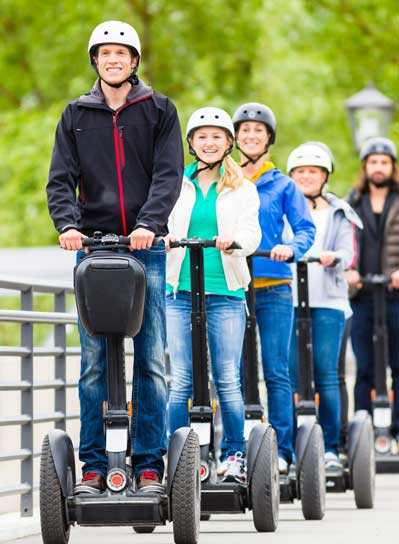 Segway fun in Leitrim