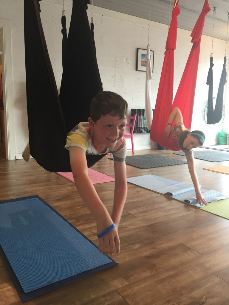 Aerial Yoga - family activity in Carrick on Shannon