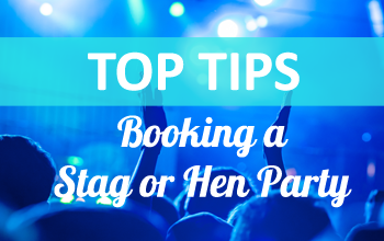 Top 5 tips when booking your hen or stag party package in Carrick on Shannon